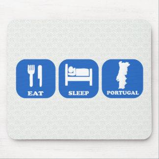 Äta sömn Portugal Musmatta