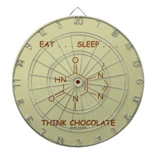 Äta… sömn… tänkachoklad (Theobromine) Piltavla