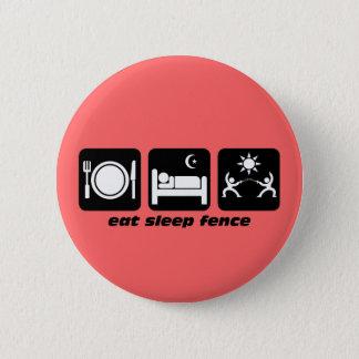 äta sömnfäktningen standard knapp rund 5.7 cm
