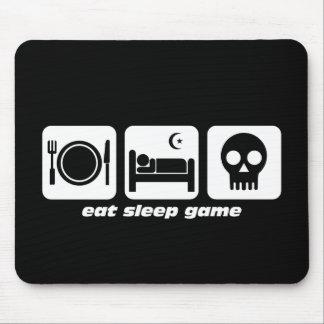 Äta sömnleken musmattor
