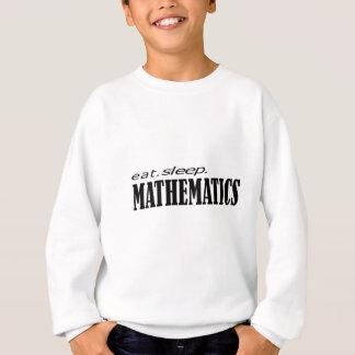 äta sömnmatematik t-shirts