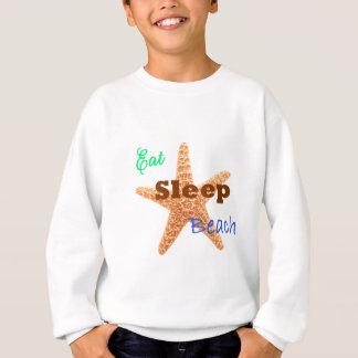 Äta sömnstranden - ungetröja tee shirts