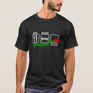 Äta sömntraktoren t-shirt