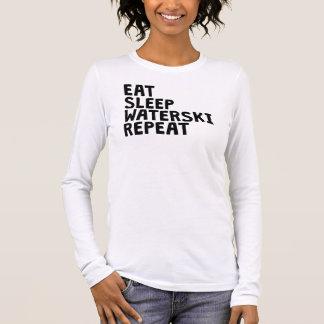 Äta sömnWaterski repetition T-shirts