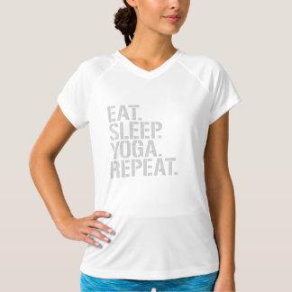 Äta sömnYogarepetition Tshirts