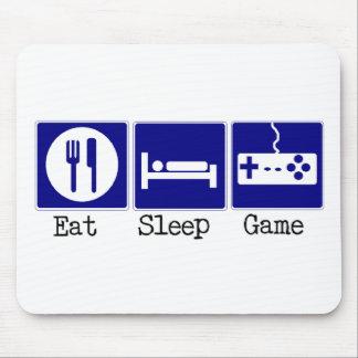 Äta, sova, spela musmatta