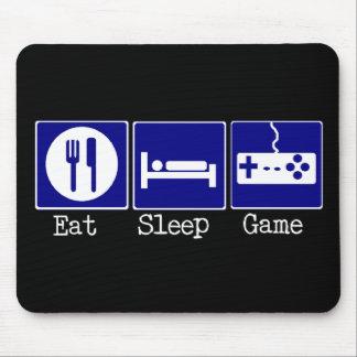 Äta, sova, spela musmattor