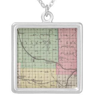 Atchison County Kansas Silverpläterat Halsband
