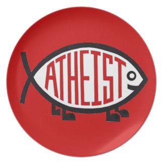 Ateistfisk Tallrik