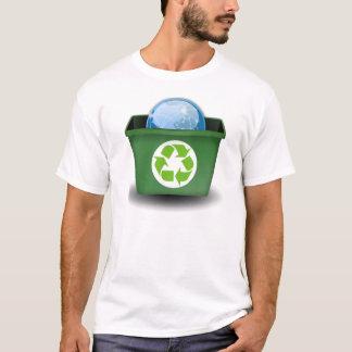 Återanvänd jorden tshirts