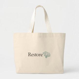 Återställande med lotusblomma jumbo tygkasse