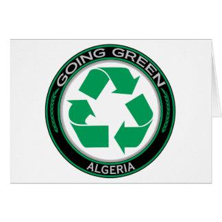Återvinna Algeriet Hälsningskort