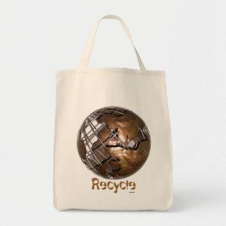 Återvinnalivsmedel Mat Tygkasse