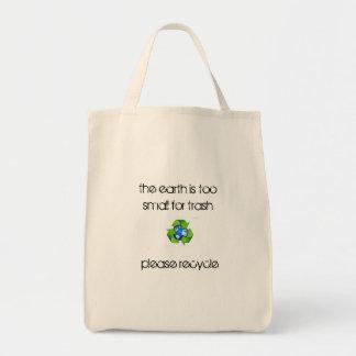 återvinnan hänger lös mat tygkasse