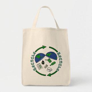Återvinnatotebag Tygkasse