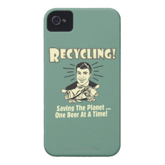 Återvinning: Besparing planet iPhone 4 Case