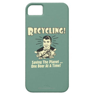 Återvinning: Besparing planet iPhone 5 Cover
