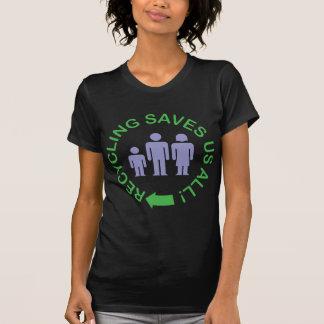 Återvinning sparar alla oss tröja