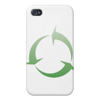 Återvinning undertecknar iPhone 4 fodraler