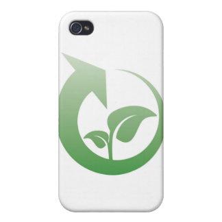 Återvinning undertecknar iPhone 4 skydd