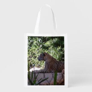 Återvinningsbar matkasse för jaguar återanvändbar påse
