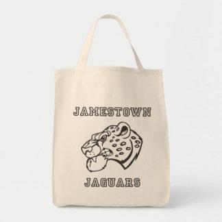 Återvinningsbar matkasse för Jamestown jaguar Tygkasse