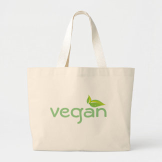 Återvinningsbar shopping bag för Vegan Jumbo Tygkasse