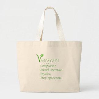Återvinningsbar Veganism för Vegantotoshopping bag Jumbo Tygkasse