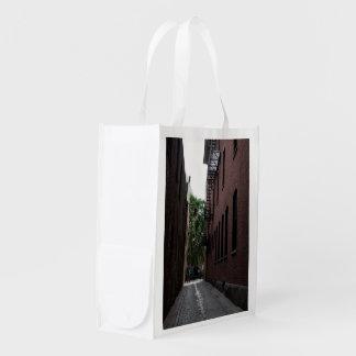 Återvinningsbart hänga lös FOTOGRAFERAR AV den Återanvändbar Påse