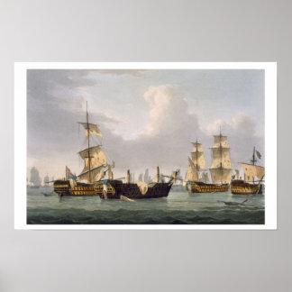 Åtgärda för Lord Hothams, mars 14th 1795 som by in Poster