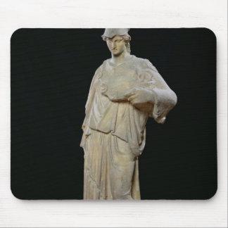 Athena med en cist, romare kopierar av ett 4th årh musmatta