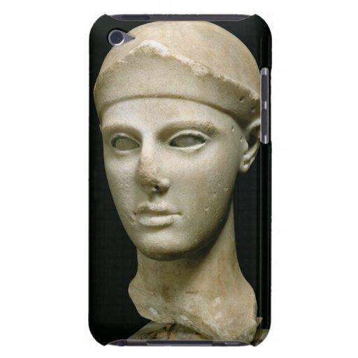 Athenaen av Aegina som ha på sig en hjälm, huvud a Case-Mate iPod Touch Case