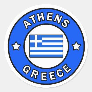 Athens Grekland klistermärke