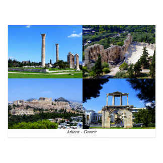 Athens - Grekland Vykort