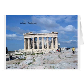Athens Parthenon Hälsningskort