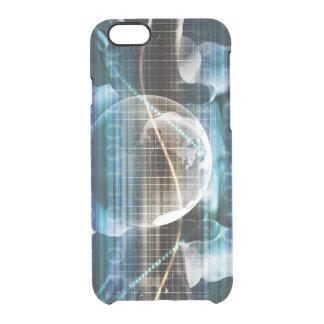 Åtkomstskyddsäkerhetsplattform Clear iPhone 6/6S Skal