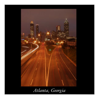 Atlanta horisont, Atlanta, Georgia Poster