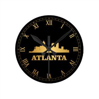 Atlanta horisont rund klocka