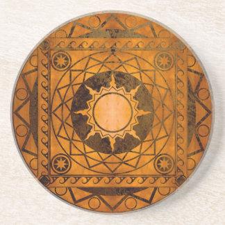 Atlantean hantverk förkopprar brons på underlägg