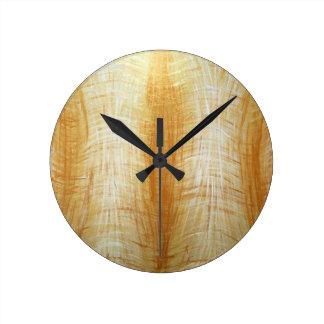Atlantes (abstrakt människafigurmålning) rund klocka