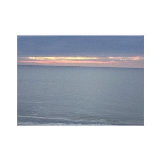 Atlantic Ocean horisont Canvastryck