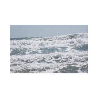 Atlantic Ocean kanvastryck