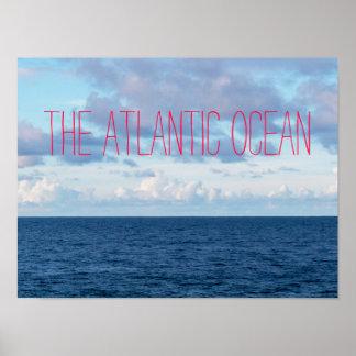 Atlanticet Ocean Poster
