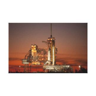 Atlantis rymdfärja canvastryck