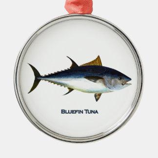 Atlantisk Bluefintonfiskprydnad Julgransprydnad Metall