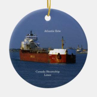Atlantisk Erie prydnad Julgransprydnad Keramik