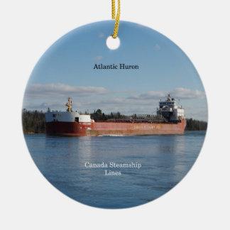 Atlantisk Huron prydnad Julgransprydnad Keramik