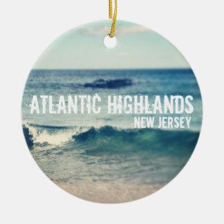 Atlantisk Skotska högländerna - 2013 - Julgransprydnad Keramik
