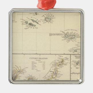 Atlantiska öar julgransprydnad metall