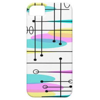 Atom- Eraabstraktfärger och design iPhone 5 Fodral